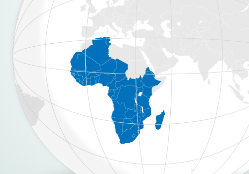 Map African Index Medicus