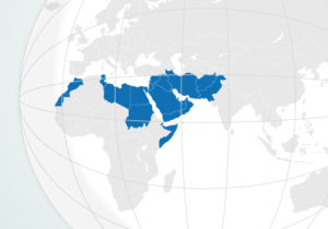 Mapa - Index Medicus do Mediterrâneo Oriental (IMEMR)
